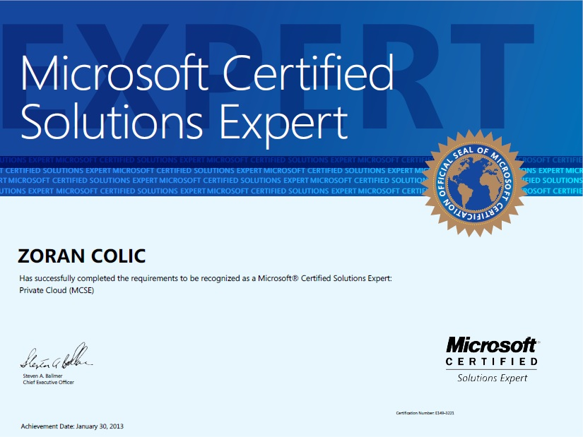Microsoft Certified It Professional Mcitp